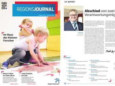 Vorschau auf RegionsJournal 1-2018