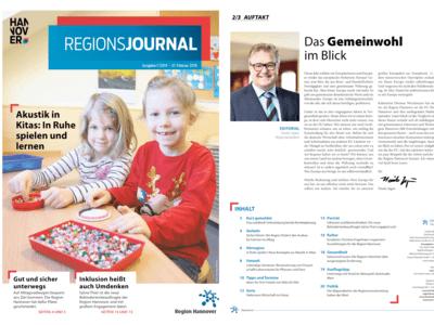 Vorschau auf RegionsJournal 1-2019