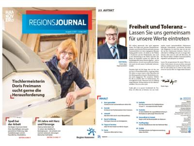 Vorschau auf RegionsJournal 2-2017