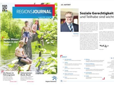 Vorschau auf RegionsJournal 2-2018