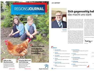 Vorschau auf RegionsJournal 3-2017