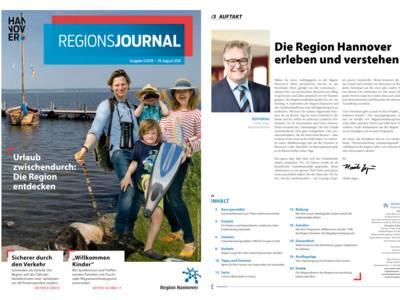 Vorschau auf RegionsJournal 3-2018