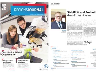 Vorschau auf RegionsJournal 4-2017
