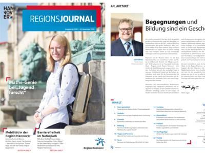 Vorschau auf RegionsJournal 4-2018