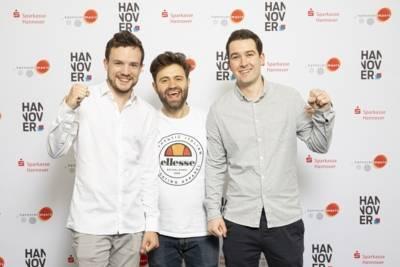 Team Hypnetic: (v.l.n.r.) Alexander Börgel, Eugen Zukin und Niko Dalke (Fotograf Kevin Münkel)