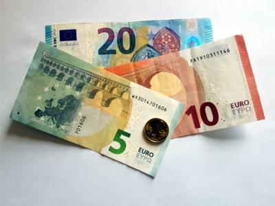 Auf dem Bild sind mehrere Eurobanknoten zu sehen.