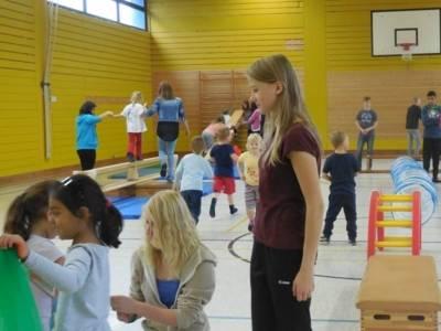 Sportunterricht in der IGS-Kronsberg