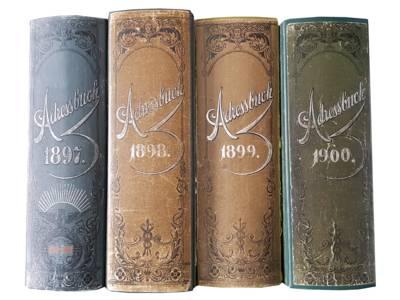 Die Adressbücher der Stadt Hannover werden digitalisiert.