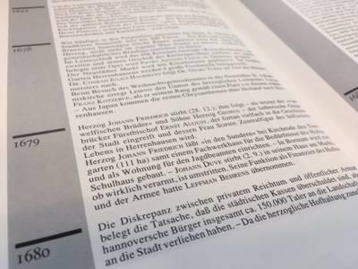 Das Stadtarchiv Hannover stellt Daten und Fakten zur hannoverschen Stadtgeschichte online zur Verfügung.