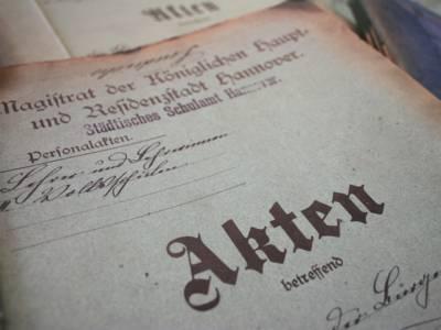 Zu den Beständen des Stadtarchivs zählen mehrere 100.000 Akten.