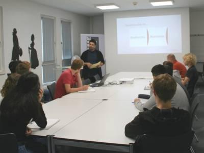 Das Stadtarchiv ist Kooperationspartner von Schulen und Universitäts-Seminaren.