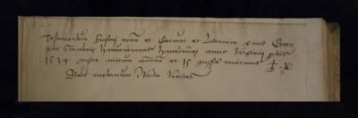 Handschriftliches Exlibris