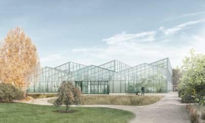 """Dritter des Architekturwettbewerbes """"Ein neues Schauhaus für den Berggarten"""""""