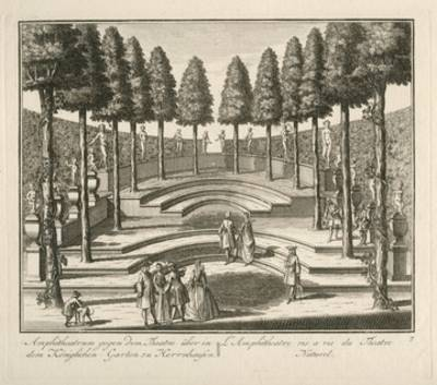 Gartentheater um 1735
