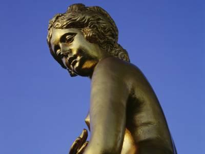 Goldene Figur