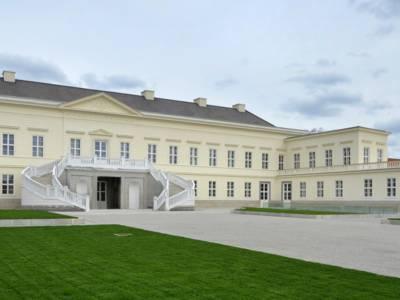 Außenansicht des Schlosses Herrenhausen
