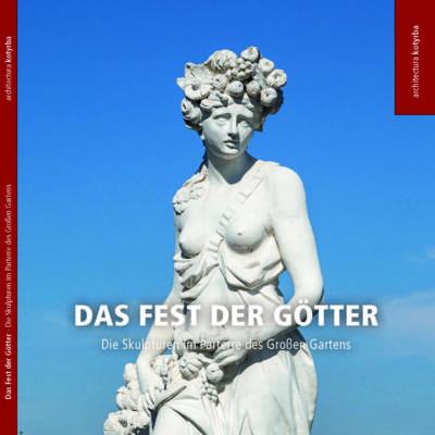 """Titelseite der Broschüre """"Das Fest der Götter"""""""