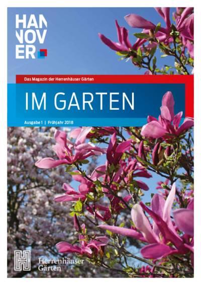 """Titelseite von """"Im Garten"""""""