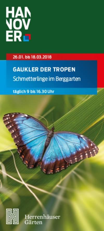 Titel Faltblatt zur Ausstellung