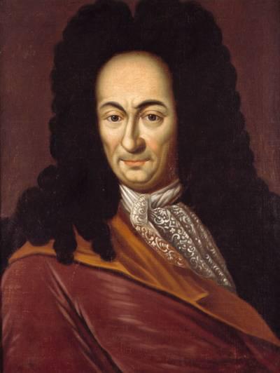 Porträt Gottfried Wilhelm Leibniz, *1646 Leipzig; † 1716 Hannover, Öl auf Leinwand