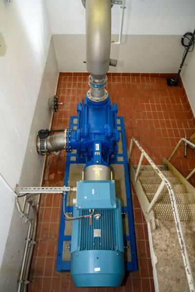 Pumpe für die Große Fontäne