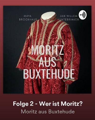 Wer ist Moritz? Titelbild für den zweiten Podcast