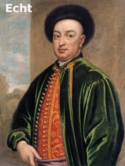 Portät Ludwig Maximilian Mehmet von Königstreu (1660-1726),Kopie des Porträts von Godfrey Kneller (1646 -1723) in der Royal Collection