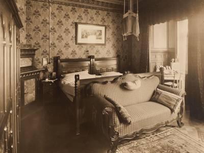 Schlafzimmer 1910