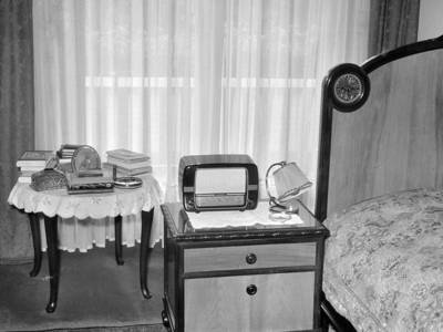 Schlafzimmer 1956