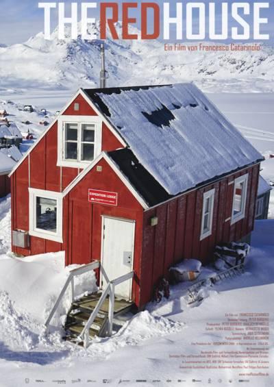Das Filmplakat The Red House zeigt das rote Haus