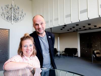Ninia Binias und Kai Schirmeyer als gewähltes Duo im Vorsitz