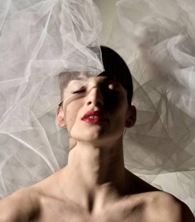 Tänzerin Sandra Bourdais