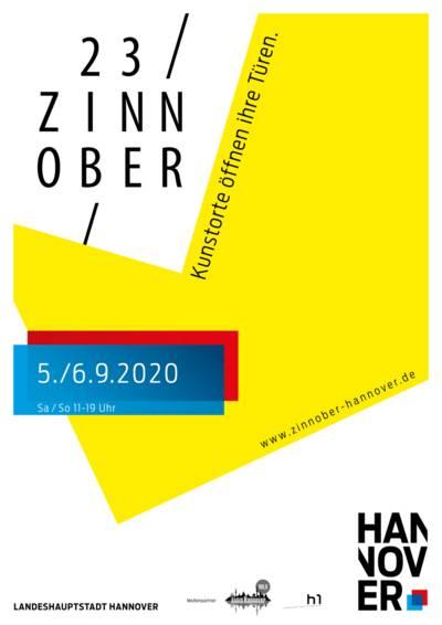 Veranstaltungsplakat ZINNOBER 2020