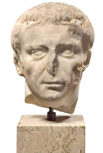 Kaiser Claudius (10 v. Chr. - 54 n. Chr.), Skulptur 1. JH., 1978