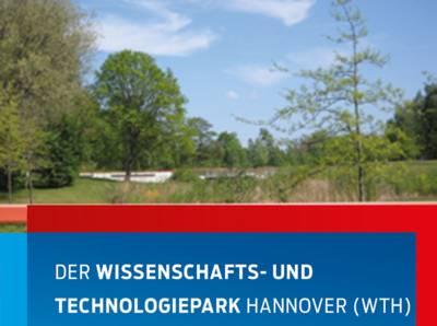 Titelbild des Flyers zum Wissenschaftspark Marienwerder