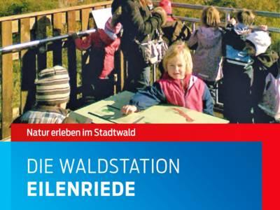 """Ausschnitt aus der Faltblatt-Titelseite zur """"Waldstation Eilenriede"""""""