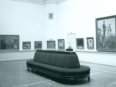 """Städtische Galerie"" im Kestner Museum Hannover, um 1942/43"