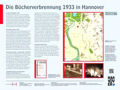 Bücherverbrennung 1933 in Hannover