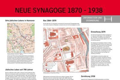 Cover - Infotafel Neue Synagoge Hannover
