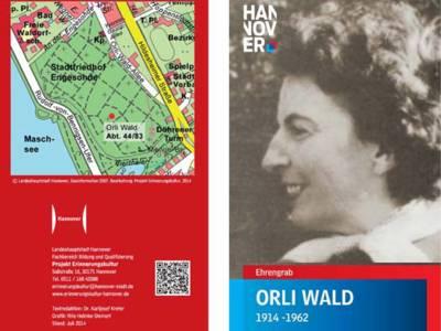 Ehrengrab Orli Wald