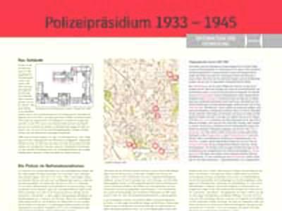 Polizeipräsidium 1933-1945