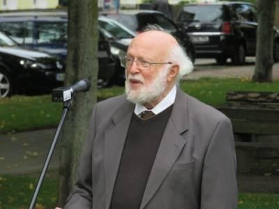 Vernon Reynolds spricht über seine Großeltern Rüdenberg