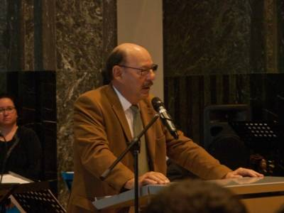 Michael Fürst, Vorsitzender der Jüdischen Gemeinde Hannover K.d.ö.R.