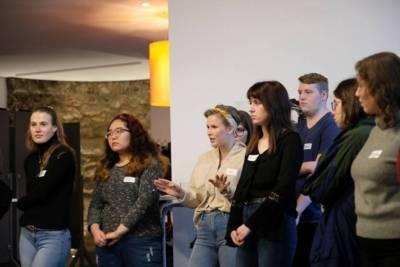 Workshop mit FSJler*innen der Türkischen Gemeinde Niedersachsen im Januar 2020
