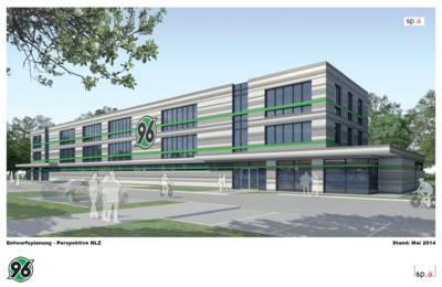 Entwurf des 96-Nachwuchsleistungszentrums