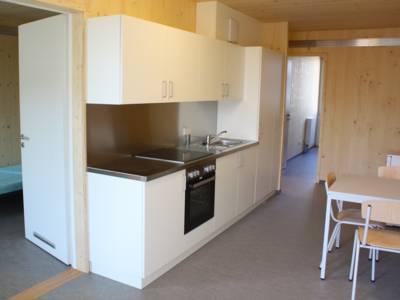 Innenaufnahme einer Wohnung in der Flüchtlingsunterkunft Dorotheenstraße