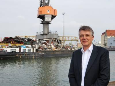 Jörn Ohm, Leiter der Städtischen Häfen Hannover