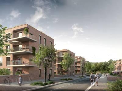 Ein Teil der rund 400 Wohnungen wird als geförderter Wohnungsbau errichtet