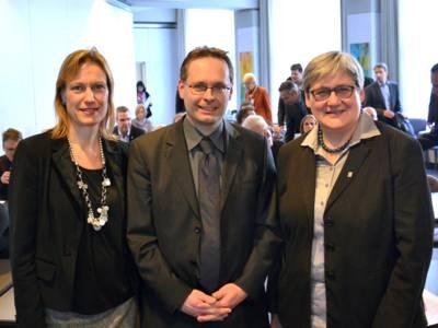 Monika Dürrer, Markus Preißner und Sabine Tegtmeyer-Dette
