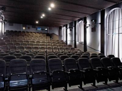 Ein Kinosaal.